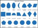 Geometric Shapes Chart & Masters