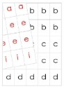 Movable Alphabet - Upper and Lowercase Print