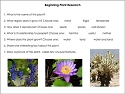 Plant & Animal Research Guides