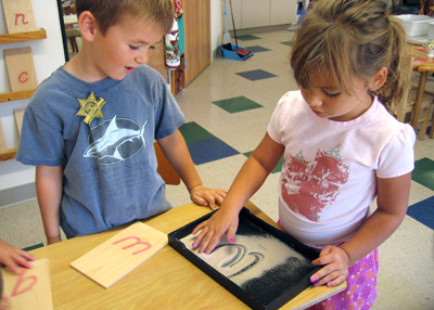Image result for Reading in Montessori Preschool