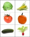 Fruit & Vegetable Matching Cards