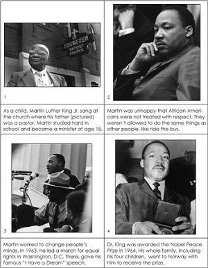 Historic Figures Set - Dr. Martin Luther King, Jr.