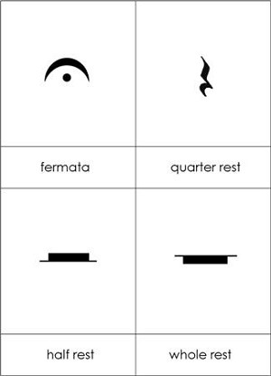 Advanced Musical Terms Symbols From Montessori For Everyone