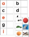 Alphabet & Picture Matching Cards